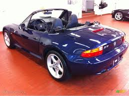 1997 z3 28 roadster montreal blue metallic black photo 7 black interior 1996 bmw z3