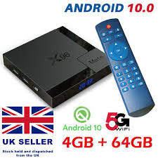 <b>X96 MATE</b> ANDROID 10.0 TV BOX 4GB+64GB <b>QUAD CORE</b> 4K HD ...