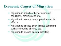 migration as a theme in ap world history   economic causes of migration