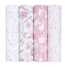 <b>Aden</b> + <b>Anais</b> - Набор из 4 Ma Fleur <b>Пеленки</b> Розовы - ru ...