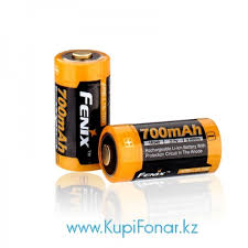 <b>Аккумулятор 16340 Fenix</b> ARB-L16 <b>700U</b> (<b>700mAh</b>)