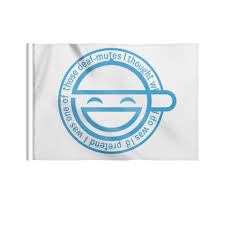 <b>Флаг 22</b>×<b>15 см</b> Смеющийся человек #2734167 от GeekFox