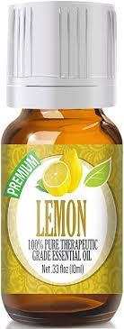 Lemon Essential Oil - 100% Pure Therapeutic Grade ... - Amazon.com