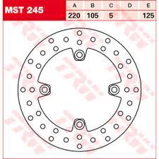 Buy TRW <b>BRAKE</b>-DISC, <b>REAR</b> MST245,DIAM..<b>220MM</b>,FIXED ...