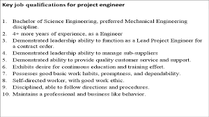 project engineer job description cover letter cover letter project engineer job descriptionresponsibilities of a engineer