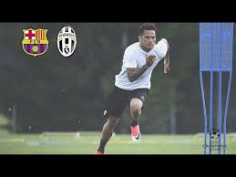 Barcelona vs Juventus: the build-up - YouTube
