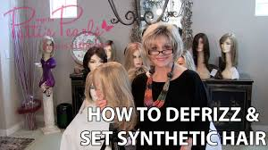 How to defrizz and <b>set synthetic hair</b> and what tools you need ...