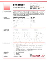 accounting assistant resume template •account assistant resume example