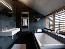 view in gallery lighting plays a pivotal role in defining the black and white bathroom black bathroom lighting
