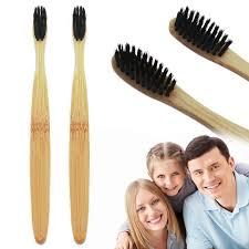 <b>Зубная щетка с</b> натуральной <b>бамбуковой</b> ручкой, 1 шт ...