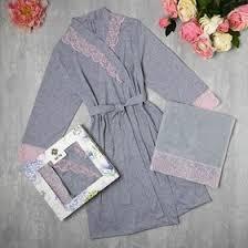 Подарочный набор KAFTAN, полотенце 30*60, <b>халат р</b>.L (<b>46-48</b> ...