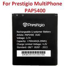 New Prestigio MultiPhone PAP5400 <b>DUO</b> 5400 Battery 1700mAh ...