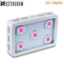 MasterGrow X5 <b>1500W</b> COB <b>LED Grow</b> Light Panel Full Spectrum ...