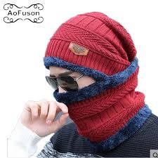 <b>Winter</b> Mask Neck Warmer <b>Cap</b> Knitted <b>Skiing Bibs Hat Snow</b> Sport ...