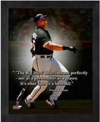 Amazon.com - Frank Thomas Chicago White Sox MLB Pro Quotes Photo ... via Relatably.com