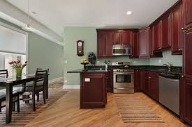 Kitchens Colors Fabulous Kitchen Colors With Dark Cabinets And Brown Wooden