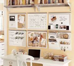 when you are short on desk space used the wall this office space does catch office space organized
