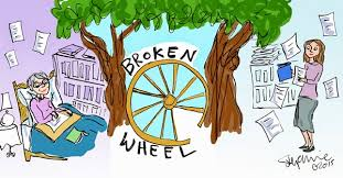 Image result for broken wheel
