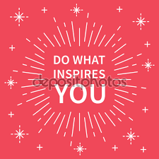 do what inspires you banner stock vector © aleksorel 107649836 do what inspires you banner stock illustration