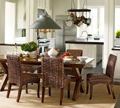 Traditional Dining Room Chairs Remarkable Woven Dining Room Chairs To Add Attraction In