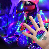 Mini <b>Laser</b> Projector Light DJ Voice-active <b>Laser</b> Stage Lighting ...
