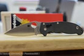 <b>Складной нож</b> Spyderco <b>Manix 2</b> на ламинированной стали ...