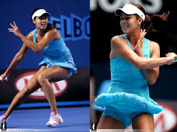 Image result for beautiful brunette female tennis players