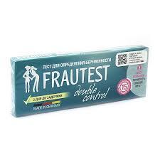 Купить <b>Тест Фраутест</b> (<b>Frautest</b>) Дабл Контрол для определения ...