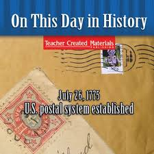 「1775  U.S. postal system established」の画像検索結果