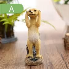 Shop <b>modern</b> resin meerkat household handicrafts figurine ...