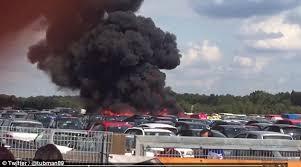 لندن -  تحطم طائرة على متنها اقارب بن لادن