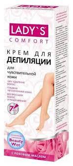 Купить <b>крем для депиляции LADY`S</b> Comfort с розовым маслом ...