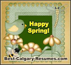 best calgary resumes greeting card happy spring