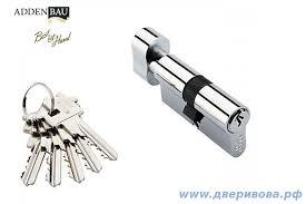 <b>Ключевой цилиндр Adden</b> Bau, 5 кл., английский ключ, 60мм РС ...