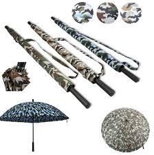2019 Straight Handle Umbrella Camouflage Umbrellas Outdoor ...