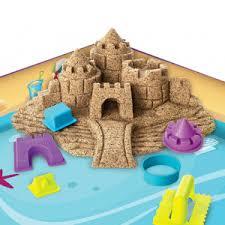 <b>Кинетический песок Kinetic</b> Sand с лотком-песочницей