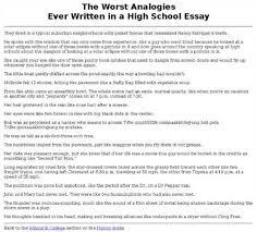 worst college essay    transmetal the worst sat essay ever   college confidential