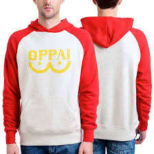 One Punch Man Men's Oppai Pull Over Hooded ... - Amazon.com