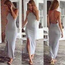 Sexy Party Dresses <b>Women</b> Evening Party Dress backless <b>Summer</b> ...