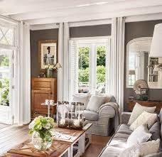 rustic style living room clever: una casa familiar llena de detalles artesanales a elmueblecom a casas
