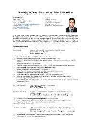 Resume Examples  Manufacturing Exporter Resume Examples         Resume Examples  Sales Marketing Resume Example Import Export Executive Resume Example Export International Sales Resume
