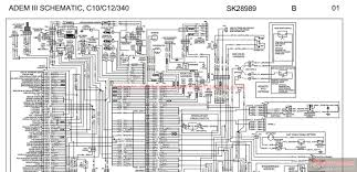 peterbilt adem iii schematic c10 c12 340 sk28989 auto more the random threads same category