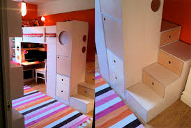 loft bed with steps and desk under thats what casa kids bunk beds casa kids