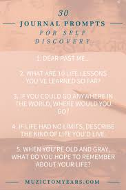 best ideas about self discovery journal prompts 30 journal prompts for self discovery an self reflection i lve journaling keeping a
