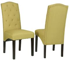 inspired lime green dining chair