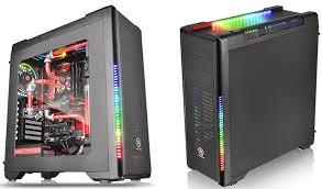 <b>Корпус Thermaltake Versa</b> C21 RGB: теперь с подсветкой