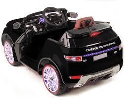 Детский <b>электромобиль Range</b> Rover Luxury Black MP4 12V ...