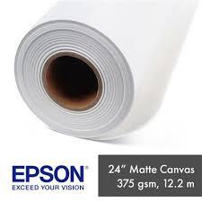 "<b>EPSON</b> 24"" <b>WATER RESISTANT MATTE</b> 375GSM CANVAS 12.2M ..."