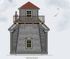 Lighthouse House Plans   Tower Lighthouse Drawings and Plans    Lighthouse House Plans   Tower Lighthouse Drawings and Plans