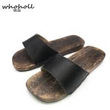 <b>WHOHOLL</b> Geta <b>Summer</b> Sandals Men Japanese Geta Wooden ...